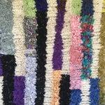 Image of Moroccan Boucherouite Rug - 4′6″ × 5′4″