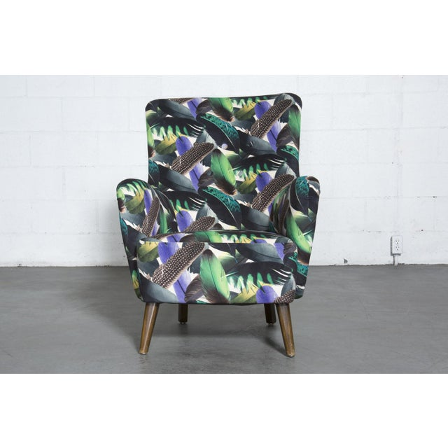Theo Ruth Armchair Feather Upholstery - Image 3 of 10