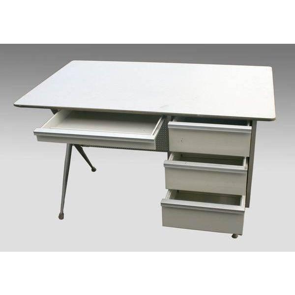Raymond Loewy Brunswick 4 Drawer Office Desk - Image 2 of 8