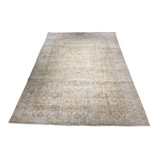 "Turkish Oushak Distressed Rug - 6'8"" x 10'3"""