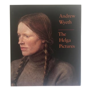 "1987 Vintage Andrew Wyeth ""The Helga Pictures"" Hardcover Art Book"