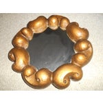 Image of Wendell Castle Style Biomorphic Mirror