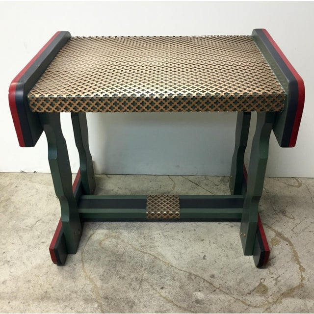 Gucci Inspired Side Tables - A Pair - Image 2 of 11