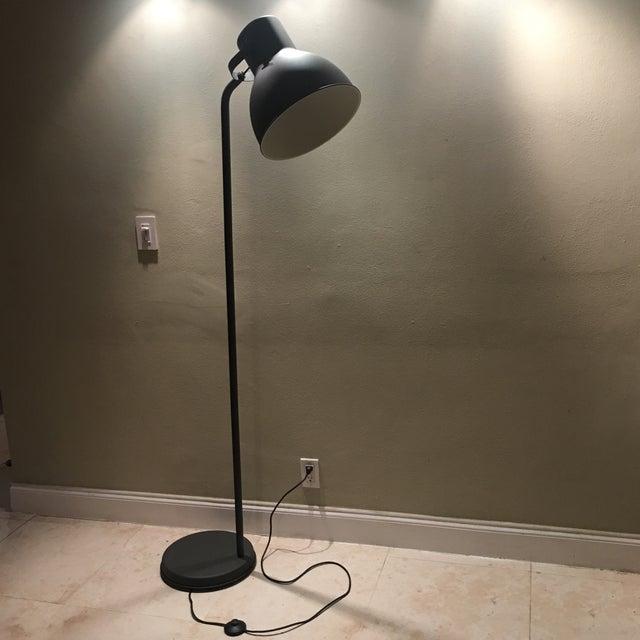 Dark Bronze Industrial Floor Lamp - Image 3 of 6