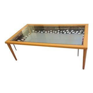 Calligaris Italian Glass Shelf Coffee Table