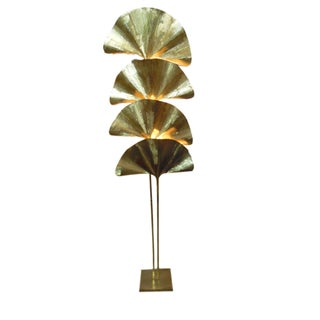 Tommaso Barbi Ginkgo Four Leaf Floor Lamp