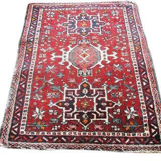 Vintage Persian Rug - 2′3″ × 3′3″