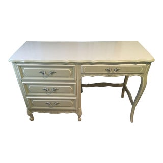 Desk: Vintage 1960s Henry Link French Provincial Bedroom Furniture - 1 of 14 Pieces