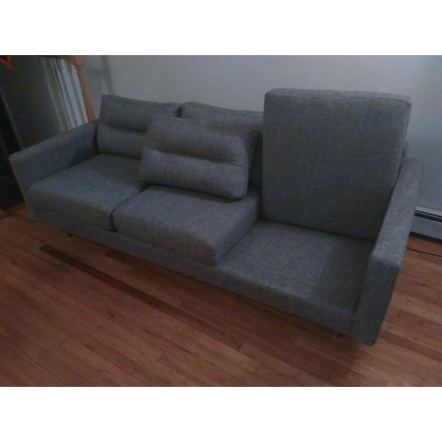Gus Modern Sterling Gravel Logan Sofa - Image 5 of 5