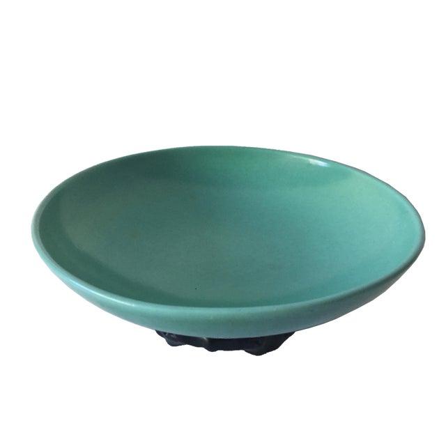 Vintage modern ceramic centerpiece bowl chairish
