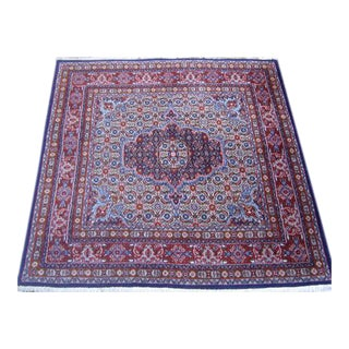 Persian Mood Mashad Rug - 4′ × 4′1″