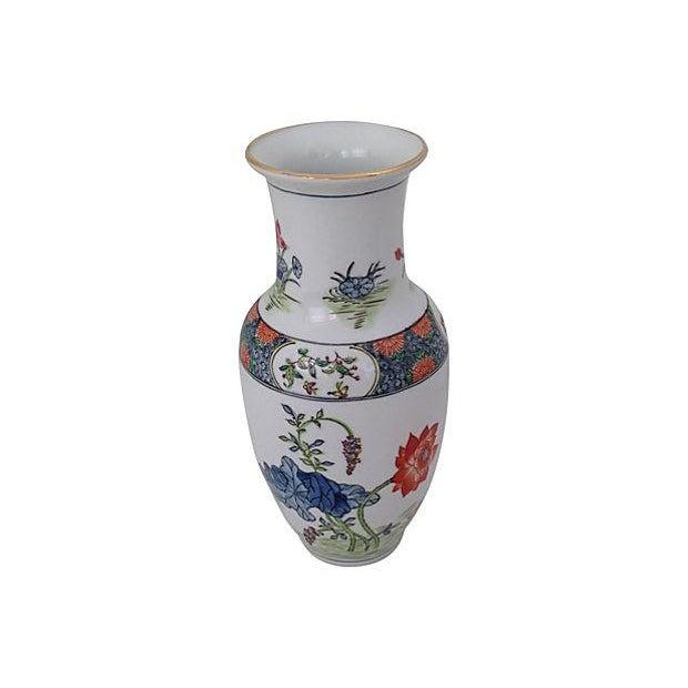 Image of Chinoiserie Porcelain Vase