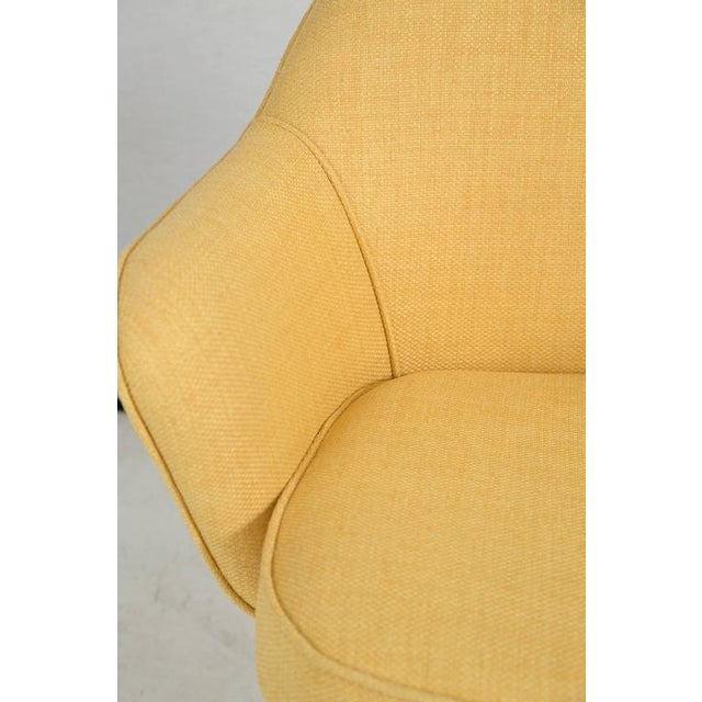 Knoll Desk Chair in Yellow Microfiber - Image 7 of 9