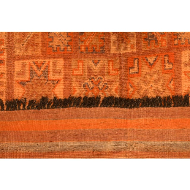Vintage Moroccan Berber Rug - 5′7″ × 12′10″ - Image 3 of 4