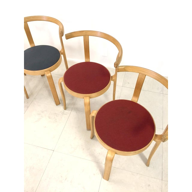 Danish Magnus Olesen Stacking Chairs - Set of 5 - Image 8 of 8