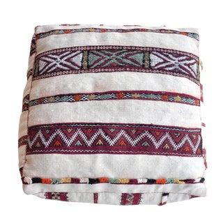 Bazar Vintage Moroccan Kilim Pouf