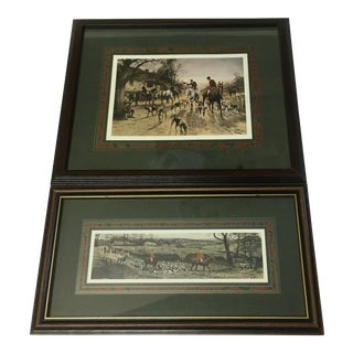George Wright Equestrian Prints - A Pair