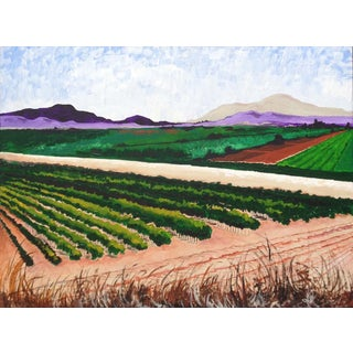 Original Wine Country Landscape