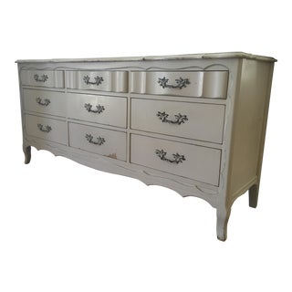 French Style Cream Painted Dresser
