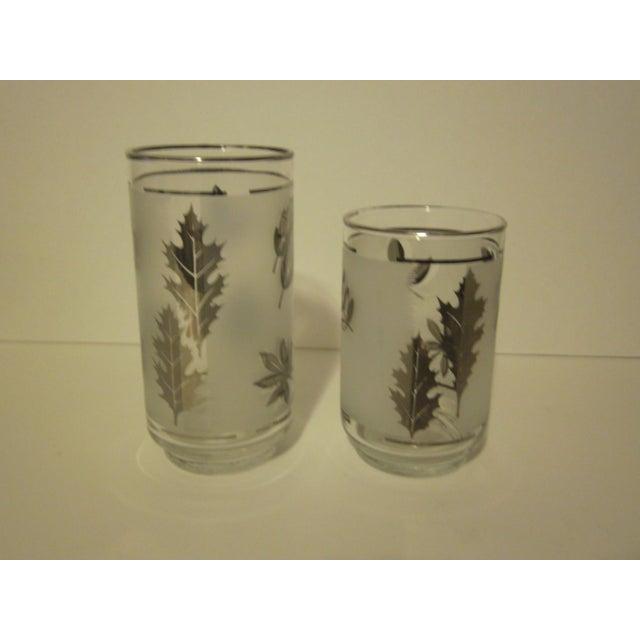 Platnium Leaf Pattern Barware - Set of 12 - Image 4 of 7