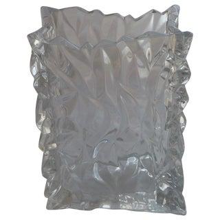 Rosenthal Studio Line Crystal Bag Vase