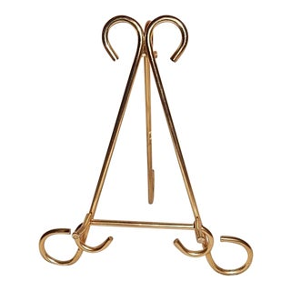 Miniature Brass Wire Easel