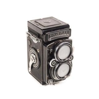 Vintage Rolleiflex TLR Camera