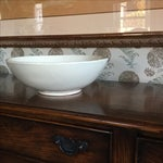 Image of Cream Colored Vietri Large Bowl