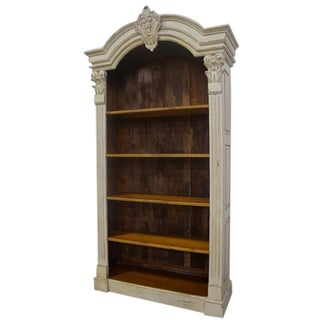 Architectural Reclaimed Barnwood Bookcase