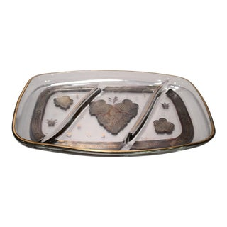 Georges Briard Mid-Century Modern Glass Tray