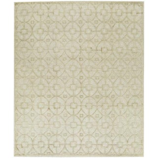 Contemporary Hand Woven Flat Weave Rug - 8′2″ × 9′8″