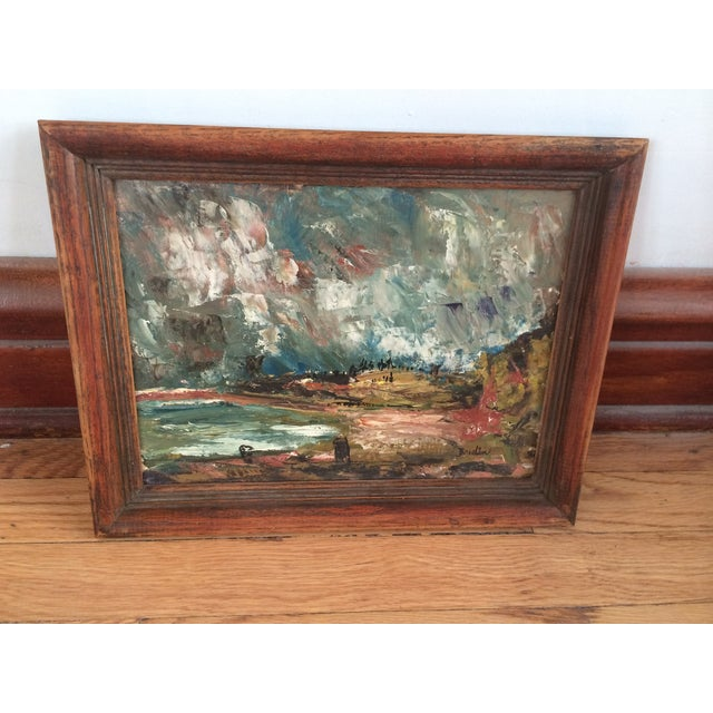 Wynn Breslin Landscape 1960s Oil Painting - Image 6 of 7