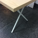 Image of Herman Miller George Nelson X-Leg Table