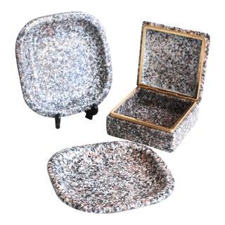 Bellini Vanity Trinket Box & Trays - Set of 3