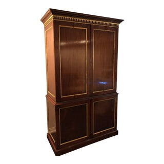 Custom English Handmade Armoire