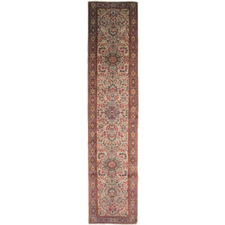 "Hand Knotted Simi Antique Runner - 13'1"" X 2'10"""