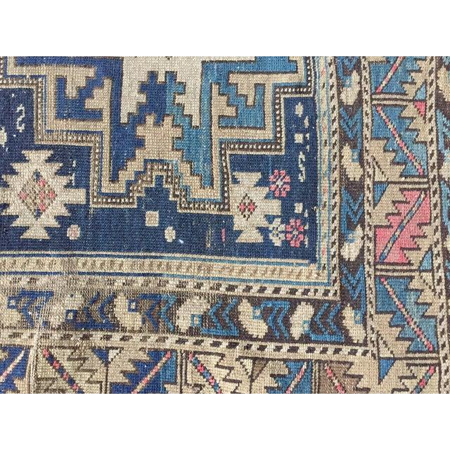 Image of Antique Shirvan Persian Rug - 3′4″ × 5′2″