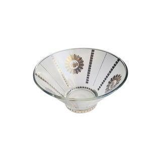 Large Vintage Georges Briard Regency Gilded Bowl