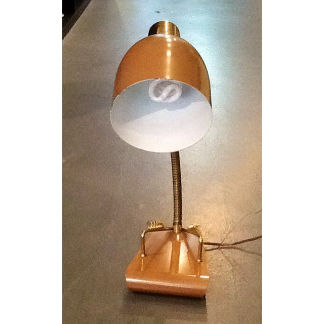 Mid-Century Student Desk Lamp - Image 3 of 4