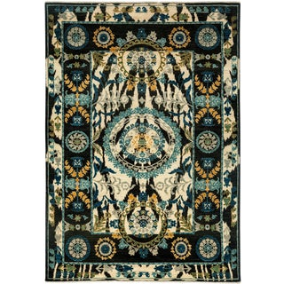 """Suzani Hand Knotted Area Rug - 6'1"""" X 8'9"""""""
