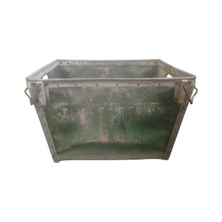 Antique Industrial Mail Bin