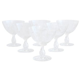 Crystal Sorbet Goblets - Set of 6