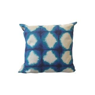 Indigo and Denim Pillow