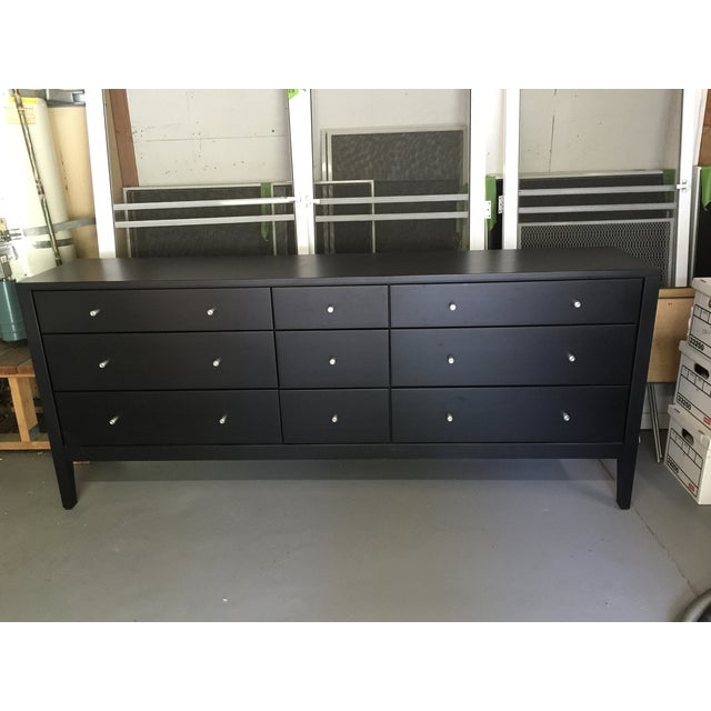 room board calvin 9 drawer dresser chairish. Black Bedroom Furniture Sets. Home Design Ideas