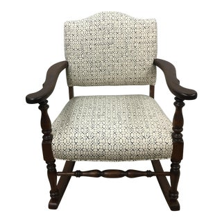 Vintage Granny Rocker Chair