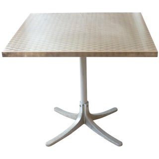 Modern Aluminum Tilt-Top Table