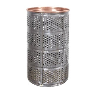 Industrial Metal Waste Basket