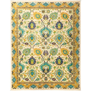 """Eclectic, Hand Knotted Area Rug - 8' 0"""" X 9' 10"""""""
