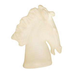Austin Ing 1983 Lucite Horse Sculpture