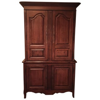 Lexington Traditional Large Cherry Wood Armoire